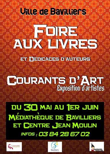 Courants d'arts Bavilliers 31 mai et 1er juin 2014