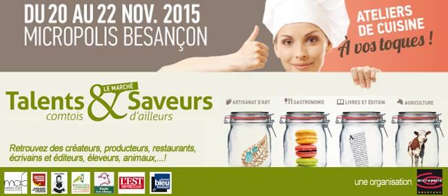 Talents Comtois Besançon les 20 et 21 novembre 2015