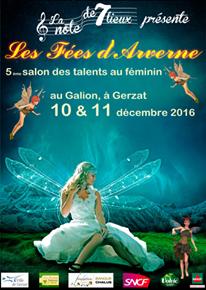 10 et 11 décembre 2016 Les Fées d'Arverne Gerzat