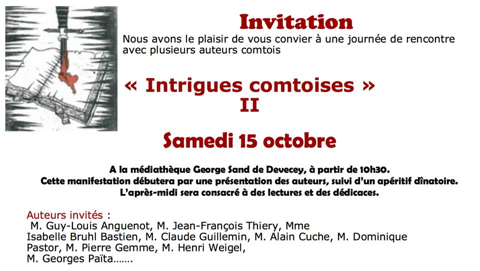 15 octobre 2016 Devecey