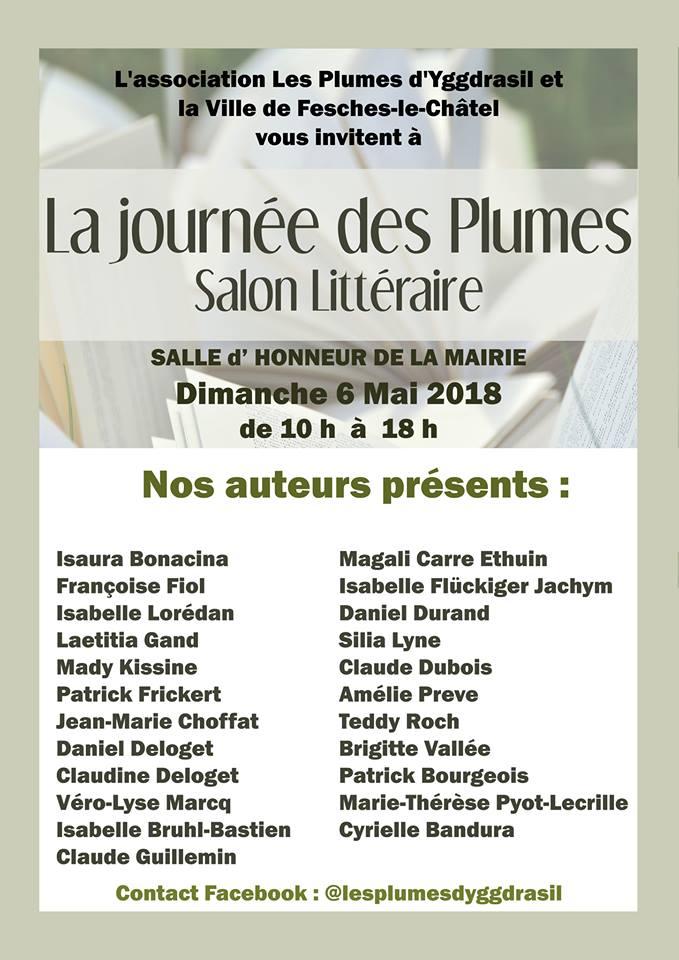 """""""La journée des Plumes"""" Fesches-le-Châtel 5 mai 2018"""