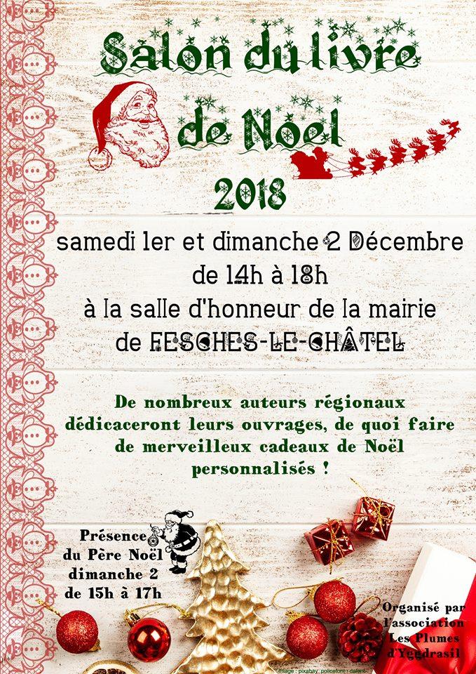 Salon du Livre de Noël Fesches le 2 décembre 2018