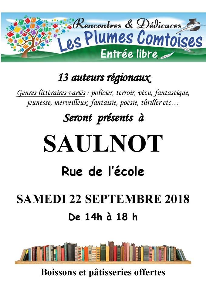 Les Plumes Comtoises Saulnot 22 septembre 2018