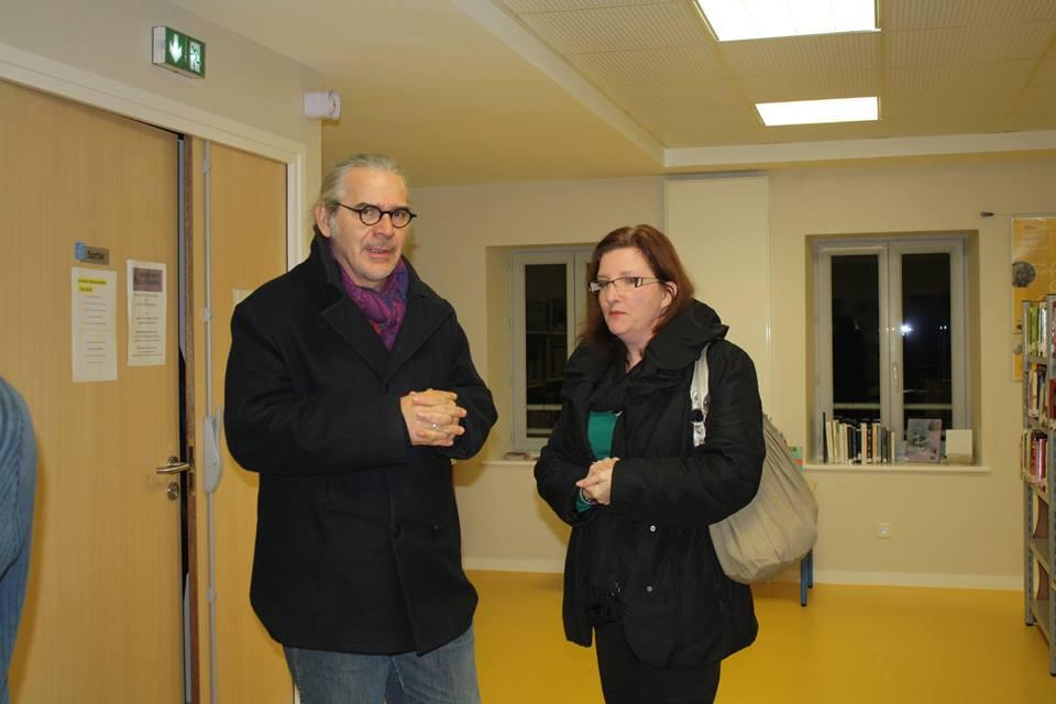 """Café littéraire des deux """"Plancher"""", le 6 novembre 2014"""