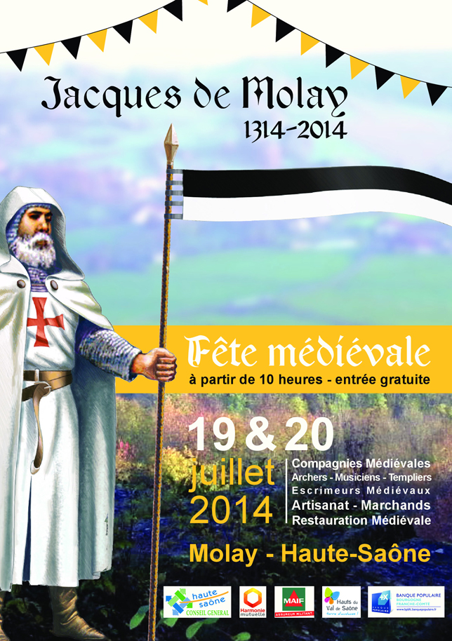 Molay, Fête médiévale 20 juillet 2014