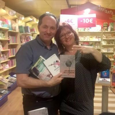 Dédicaces librairies 2017