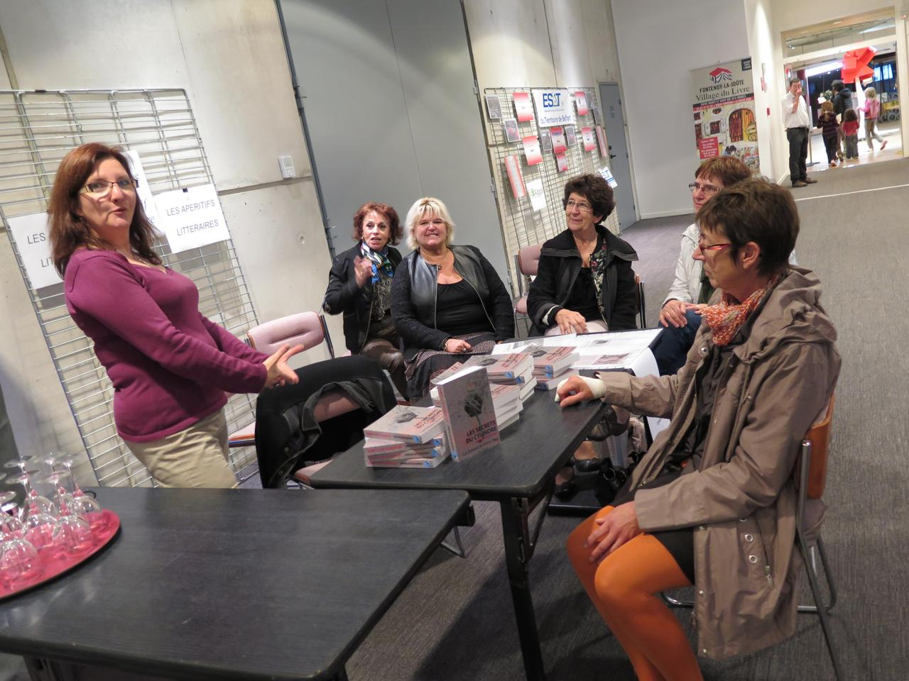 Apéritif littéraire 21 octobre 2014 Atria