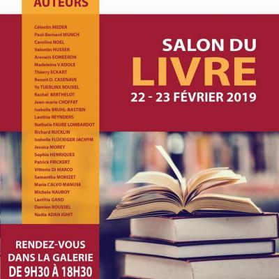 Salon du Livre Saint-Louis 22 et 23 février 2019