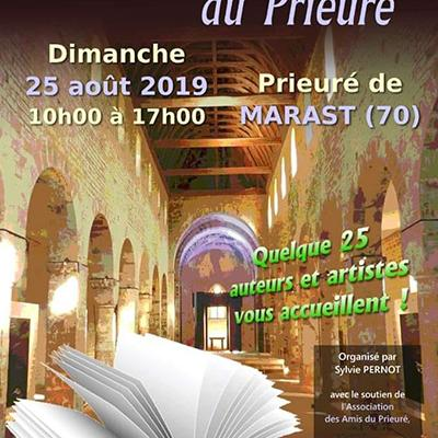 Salon du livre du Prieuré Marast 25 août 2019