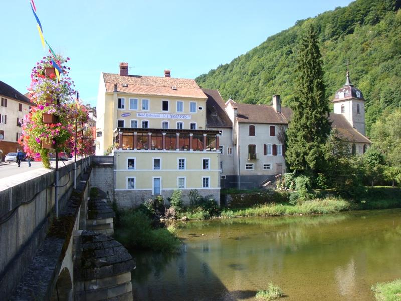 Saint-Hippolyte, Restaurant les Terrasses le 21 juin 2014