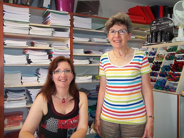 Librairie Nicod, Valentigney, 13 juin 2015