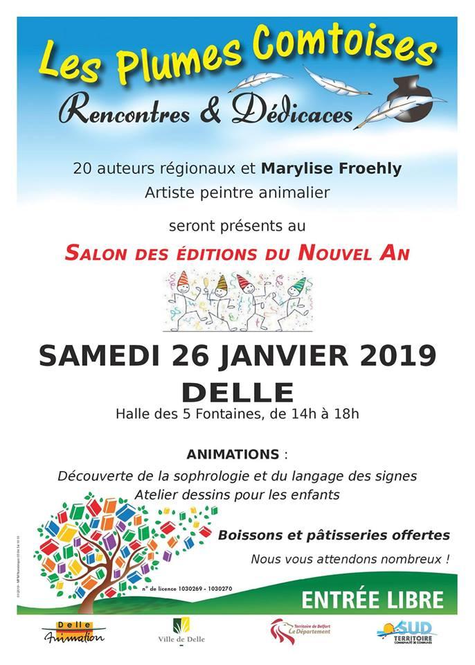 Plumes Comtoises à Delle 26 janvier 2019