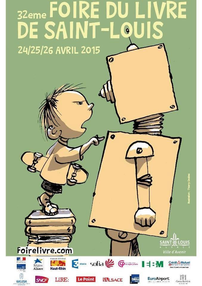 32ème Foire du Livre de Saint-Louis Avril 2015