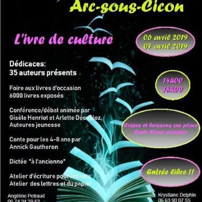 Salon Arc-Sous-Cicon 6 et 7 avril 2019