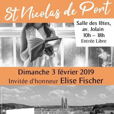 Salon du Livre Saint-Nicolas-de-Port, 3 février 2019