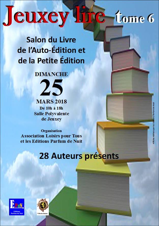 Salon du livre de Jeuxey 25 mars 2018