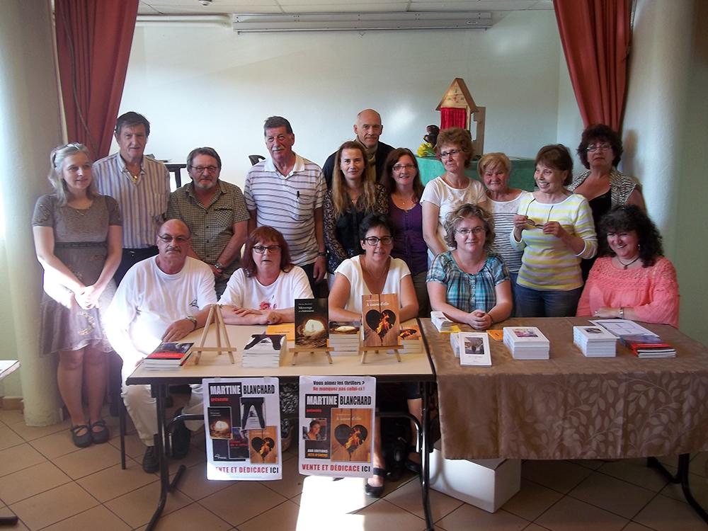 Salon littéraire Beutal 27 juin 2015